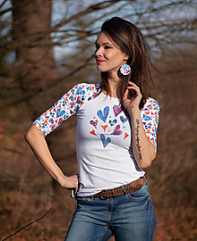 Tričká - Tričko Delilah Raglán - 13112208_