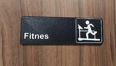 Tabuľky - Fitnes - tabuľka na dvere/stenu - 13108049_