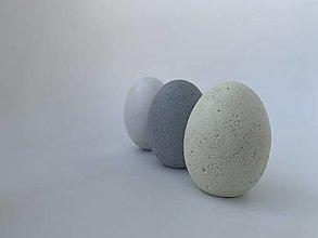 Dekorácie - Betónové vajíčka sada- citrón - 13109662_