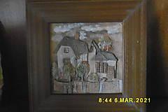 Obrazy - dom na dedina - 13110571_