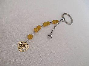 Kľúčenky - Kľúčenka - strom života - chirurgická oceľ - 13114588_