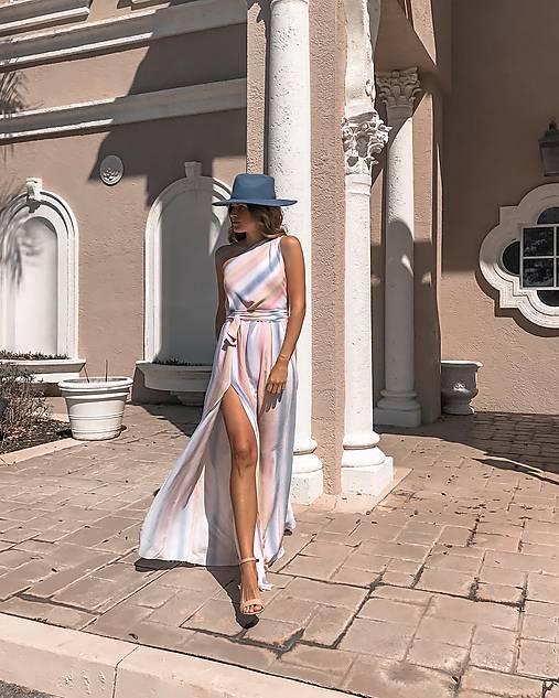 Šaty - Dúhové šaty - 13116806_