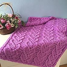 Textil - orchidea ♥ deka z Alize Puffy - 13114814_