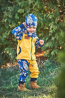 Detské oblečenie - jarná softschell bunda zvieratká - 13113102_