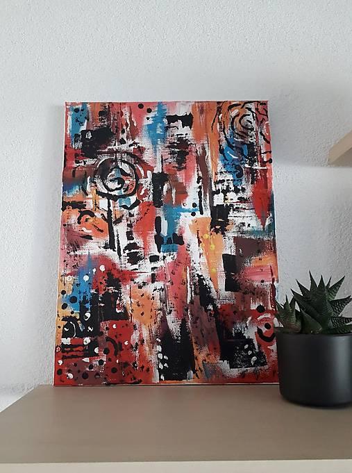 Abstraktný obraz 40x30