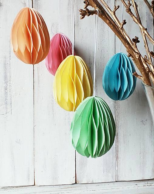 Dekorácie - Jarná dekorácia - Veľkonočné vajíčka - 13118986_