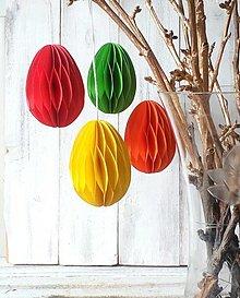 Dekorácie - Jarná dekorácia - Veľkonočné vajíčka - 13118886_