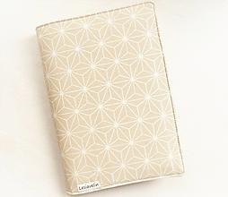 Papiernictvo - Obal na knihu - Origami (nastaviteľná veľkosť) - 13119655_