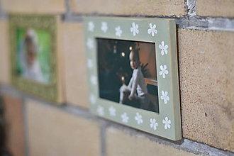 Rámiky - Maľovaný rámik - 13122050_