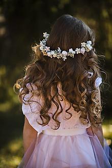 """Ozdoby do vlasov - Polvenček na prijímanie """"láska v nás"""" - 13120185_"""