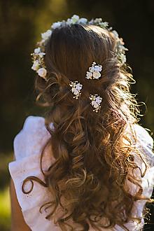 """Ozdoby do vlasov - Set vláseniek """"láska v nás"""" - 13120207_"""