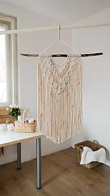 Dekorácie - Macramé dekorácia LINDA - 13117939_