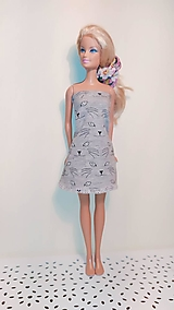 Hračky - Krátke mačičkovské šaty so svietiacimi očkami - 13121151_