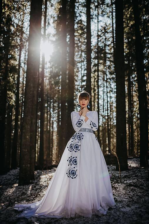 svadobná sukňa Očovianka