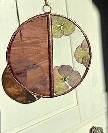 Dekorácie - Závesná dekorácia s hortenziami - 13118024_