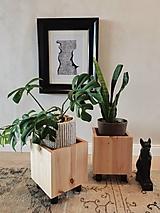 "- Dvojset Interiérových Stojanov č.4 na rastliny pod názvom ""The Cube"" z kolekcie Yin&Yang - 13120042_"