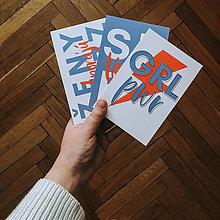 Papiernictvo - pohľadnica / kolekcia SEBALÁSKA (set všetkých pohľadníc) - 13118837_