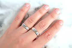 Prstene - Obrúčky alebo prívesok s odtlačkom prsta - 13117251_