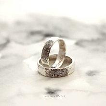 Prstene - Obrúčky alebo prívesok s odtlačkom prsta - 13117250_