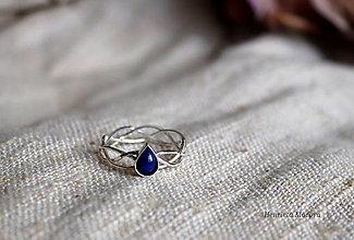 Prstene - spletaný prsteň - inšpirované prírodou - 13117439_