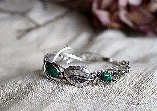 Sady šperkov - spletaný set - inšpirovaný prírodou - 13117786_