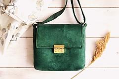 Kabelky - Leona kabelka (smaragdová) - 13125138_