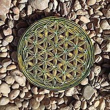 Dekorácie - Kvet života obraz - 13123174_