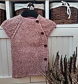 Detské oblečenie - Svetrík bez rukávov - 13123249_