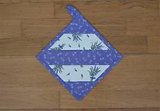 Úžitkový textil - Chňapka levanduľová - 13126414_