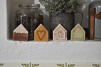 Dekorácie - Jarné domčeky 3 - 13125815_