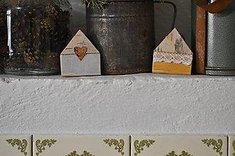 Dekorácie - Jarné domčeky 5 - 13125917_