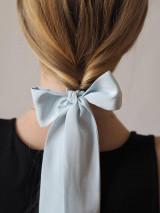 Šatky - Šatka do vlasov - modrá - 13127308_