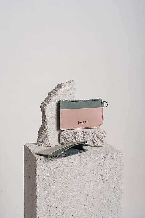 Peňaženky - Wallet Minty nude - 13122812_