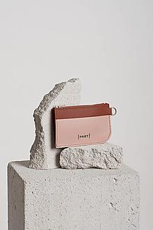 Peňaženky - Wallet Teracota nude - 13122832_