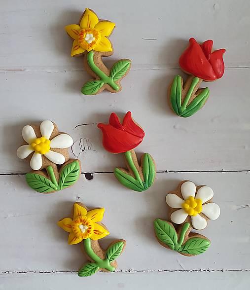 Dekorácie - Perníkový kvet malý - 13127569_