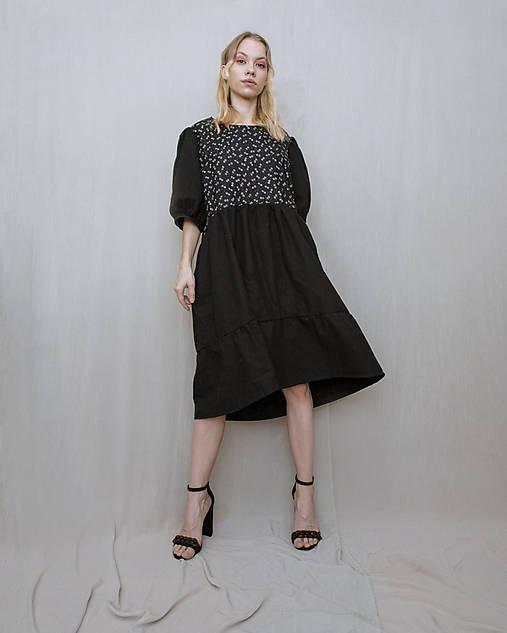 Šaty - Šaty puff - 13123301_