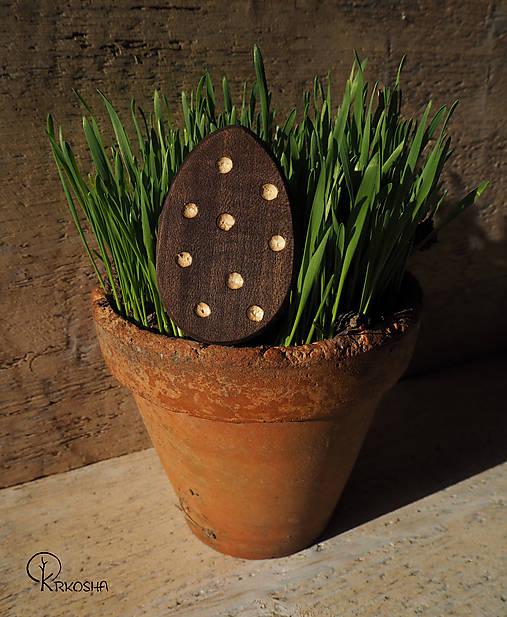 Dekorácie - Veľkonočné vyrezávané vajíčko - 13124448_