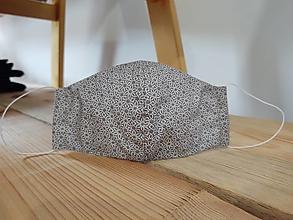 Rúška - ochranné bavlnené rúško (Šedá) - 13125687_