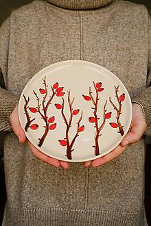 Nádoby - Tanier kolekcia Les (Šípky) - 13125760_