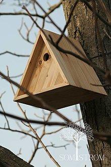 Pre zvieratká - Trojuholníková vtáčia búdka - 13126259_