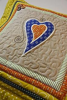 Úžitkový textil - Srdce k srdcu No. 10 - 13127345_