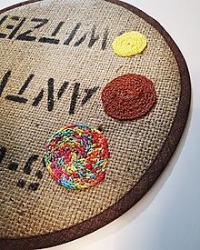Úžitkový textil - Kruhové prestieranie - 13127531_