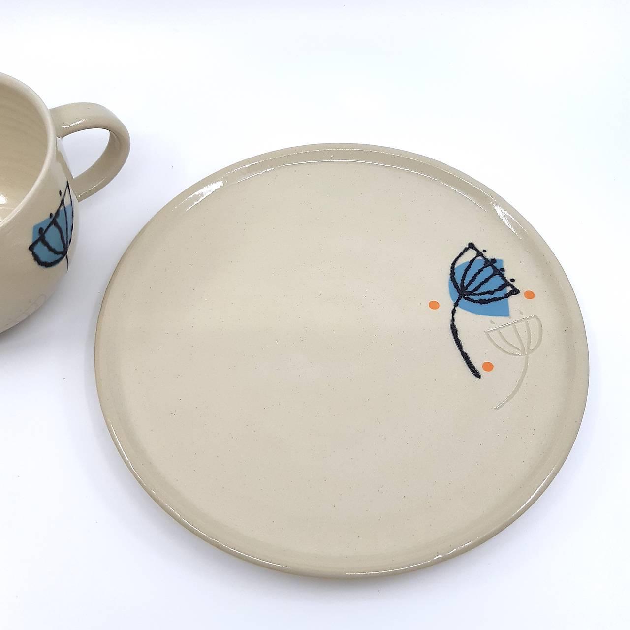 Šálka, tanier, set (Šálka)