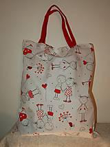 Nákupné tašky - zamilovaná - 13126643_