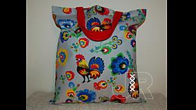 Nákupné tašky - nákupná - kohútik - 13126838_