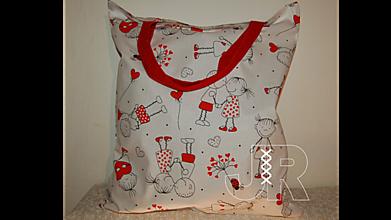 Nákupné tašky - zamilovaná - 13126642_