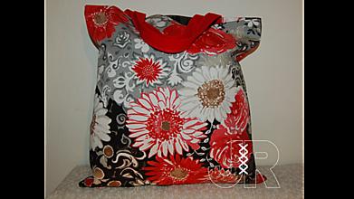 Nákupné tašky - nákupná - kvetiny - 13127009_