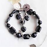 Sady šperkov - Modrý pieskovec - 13129375_