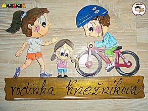 Tabuľky - Menovka - rodinka - 13131050_