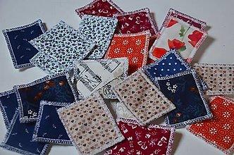 Úžitkový textil - Zero waste odličovacie tampóny 5 ks - 13128830_